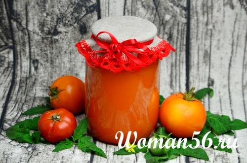 желтый томатный сок