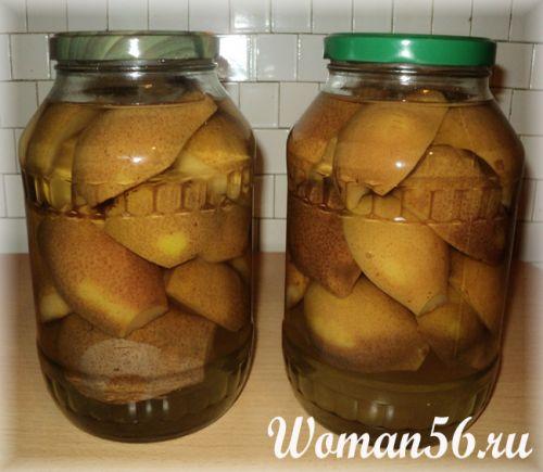 консервированные груши на зиму рецепты с фото