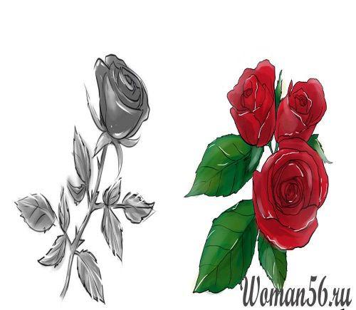 Цветок в объеме своими руками
